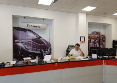 Tende in PVC personalizzate NISSAN