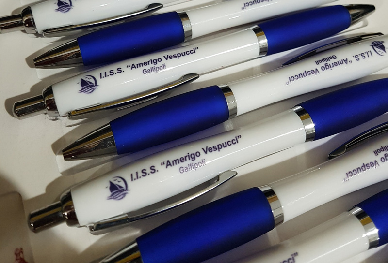 """Penne personalizzate I.I.S.S. """"Amerigo Vespucci"""" Gallipoli (LE)"""